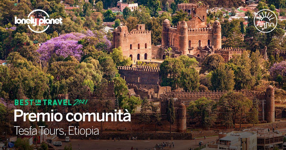 Trekking nelle comunità etiopi