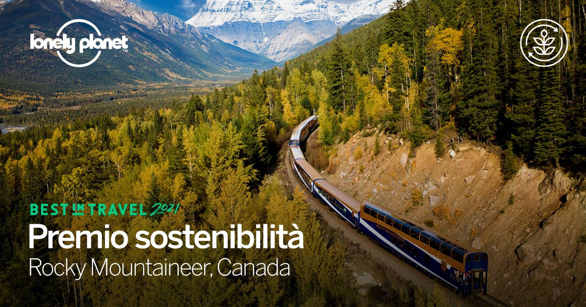 Canada: Viaggio sostenibile in treno