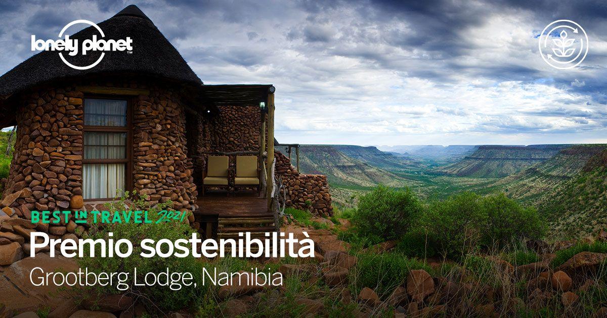 Una struttura ricettiva sostenibile in Namibia