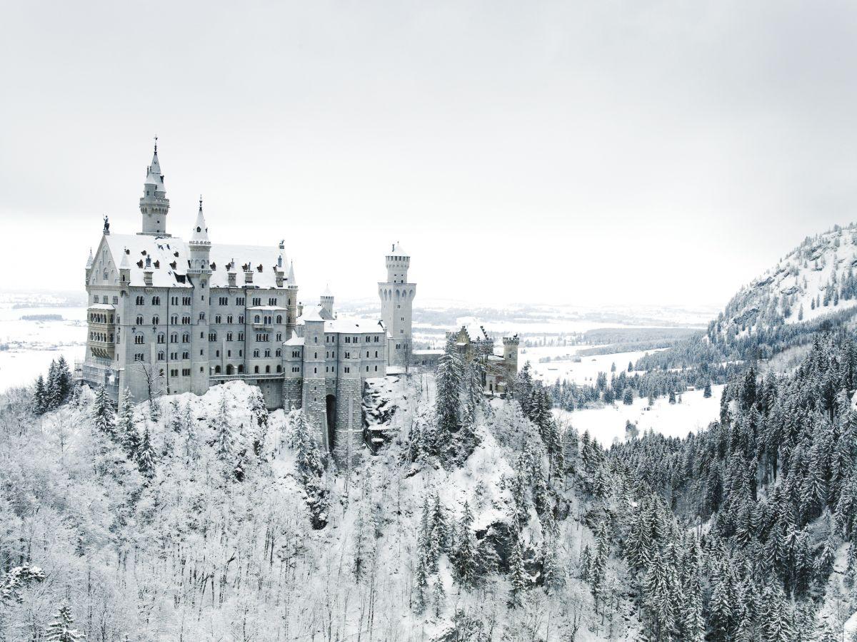 Inverno tra i castelli della Romantische Strasse