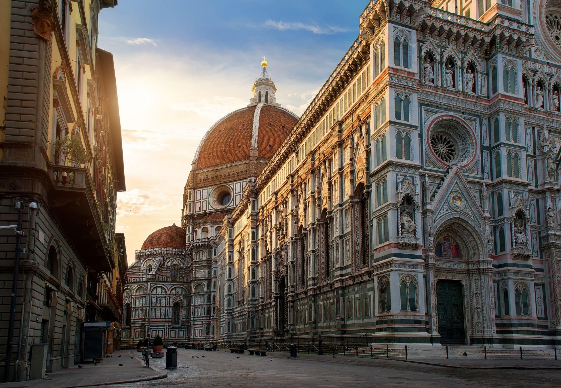 Piazza del Duomo e la Cattedrale di Santa Maria del Fiore