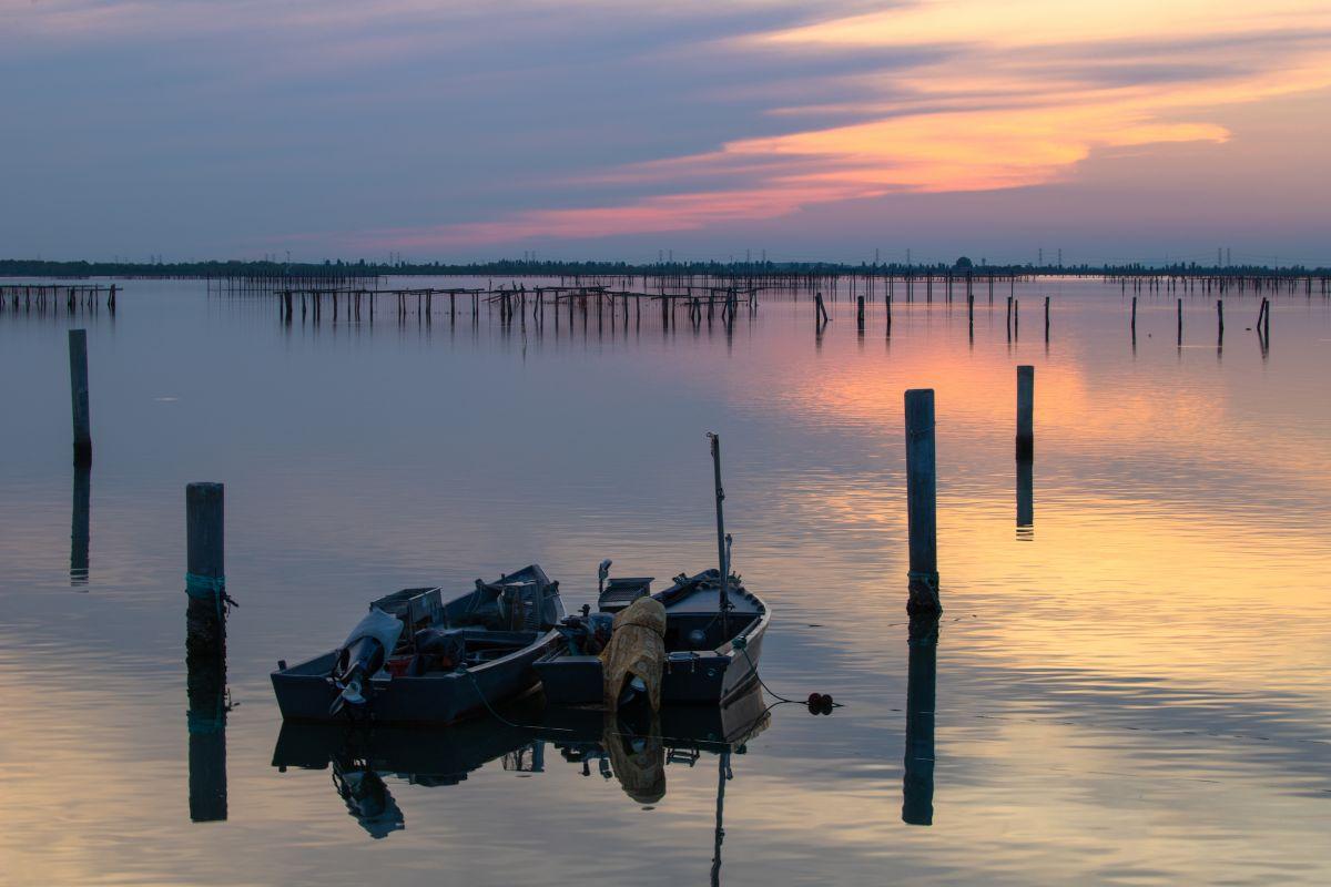 Autunno in Veneto a mangiar pesce sui Bilancioni del Delta del Po