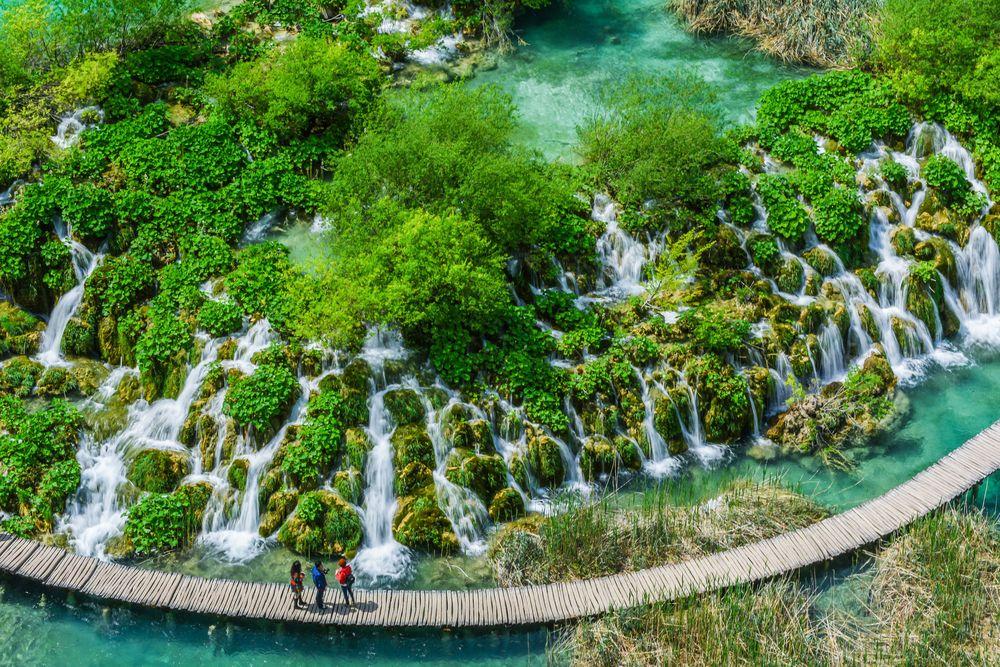 Croazia, laghi di Plitvice: un capolavoro creato dall'acqua